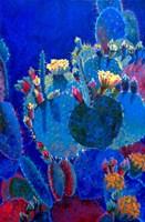 Prickly Pear Blue Fine-Art Print