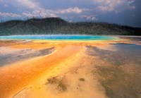 Grand Prismatic Geyser, Yellowstone National Park, Wyoming Fine-Art Print