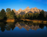 Teton Range and Snake River, Grand Teton National Park, Wyoming Fine-Art Print