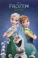 Frozen Fever - One Sheet Wall Poster