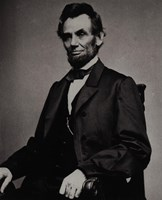 Abraham Lincoln, 16th President of the United States Fine-Art Print