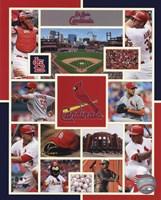St. Louis Cardinals 2015 Team Composite Fine-Art Print