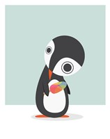 Pingu Loves Ice Cream Fine-Art Print