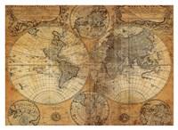 Vintage Map Fine-Art Print