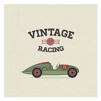 Vintage Racing 3 Fine-Art Print