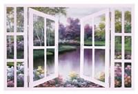 Springtime Symphony Door Fine-Art Print