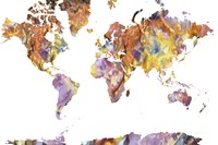 World Map Rock 1 Fine-Art Print