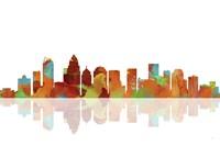 Charlotte NC Skyline 1 Fine-Art Print