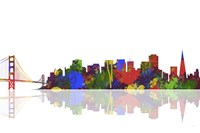 San Francisco California Skyline 1 Fine-Art Print