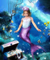 Mermaid Princess Fine-Art Print