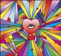 Heart Eye Pop Fine-Art Print