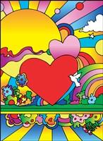 Cosmic Heart Landscape Fine-Art Print