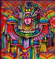Mardigras Lady 1 Fine-Art Print