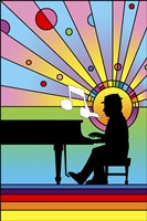 Piano Player 1 Fine-Art Print