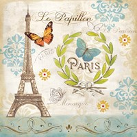 Le Papillon Paris I Fine-Art Print
