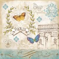 Le Papillon Paris II Fine-Art Print