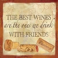 Wine Cork Sentiment II Fine-Art Print