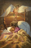 The Kissing Angel Fine-Art Print