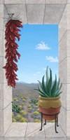 Aloe and Chilis I Fine-Art Print