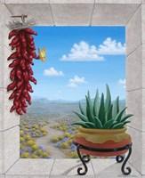 Aloe and Chilis II Fine-Art Print