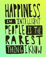 Hemingway Happiness Fine-Art Print