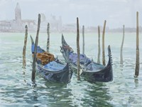 Gondolas Fine-Art Print