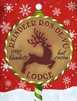 Reindeer Lodge Fine-Art Print