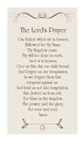 The Lord's Prayer - Floral Fine-Art Print