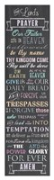 The Lord's Prayer - Chalkboard Fine-Art Print