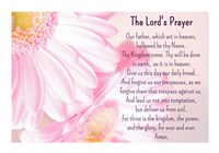 Lord's Prayer - Floral Fine-Art Print
