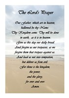 The Lord's Prayer - Beach Fine-Art Print
