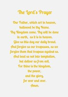 The Lord's Prayer - Gold Fine-Art Print