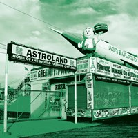 Green Astroland Fine-Art Print