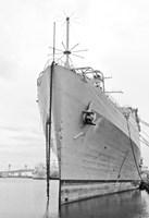 Naval Ship (b/w) Fine-Art Print