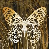 Butterflies & Leaves II Fine-Art Print
