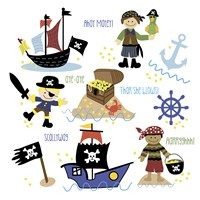 Pirates & Ships Fine-Art Print