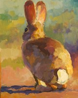 Backdoor Bunny Fine-Art Print