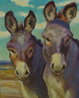 Just Looking Burros Fine-Art Print