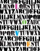 Alphabet Love Fine-Art Print