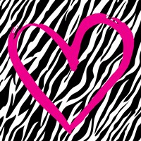 Zebra Love Fine-Art Print