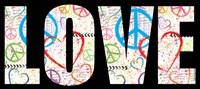 Love Graffiti - Color Fine-Art Print