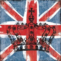 Union Jack Crown 2 Fine-Art Print