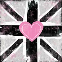 Union Jack Heart I Fine-Art Print