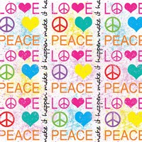 Peace Love 1 Fine-Art Print
