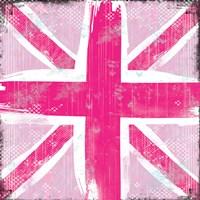Union Jack Pink Fine-Art Print