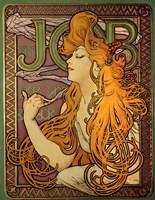 Job - Cigarette Paper Ad Fine-Art Print
