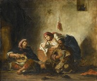 Jewish Musicians from Mogador Fine-Art Print