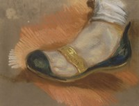 Study of a Slipper, 1827-1828 Fine-Art Print