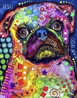 Pug 92309 Fine-Art Print