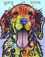Dog Is Love Fine-Art Print